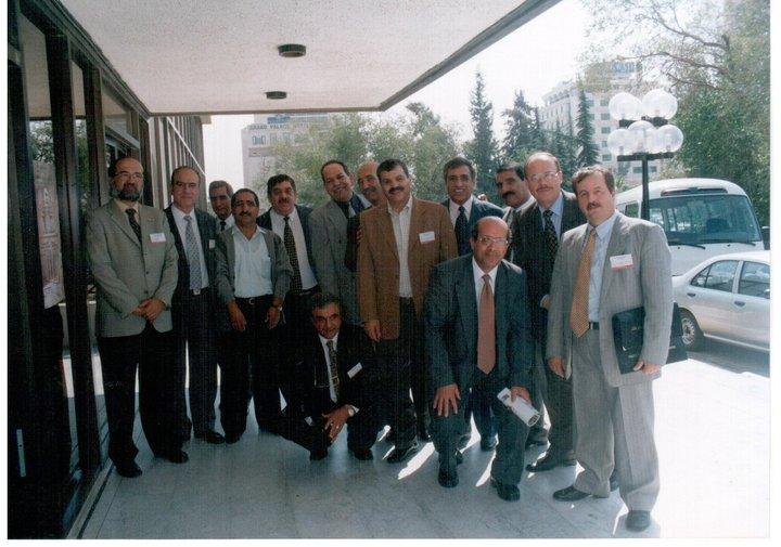 افتتاح المؤتمر الطبي الاردني الاسباني الثالث في المركز الثقافي الملكي (16-10-2000)