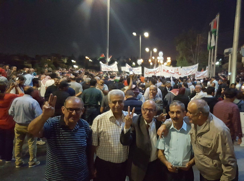 احتجاجات شعبيه على السياسات الاقتصاديه  للحكومه الاردنيه (6 – 6 – 2018)