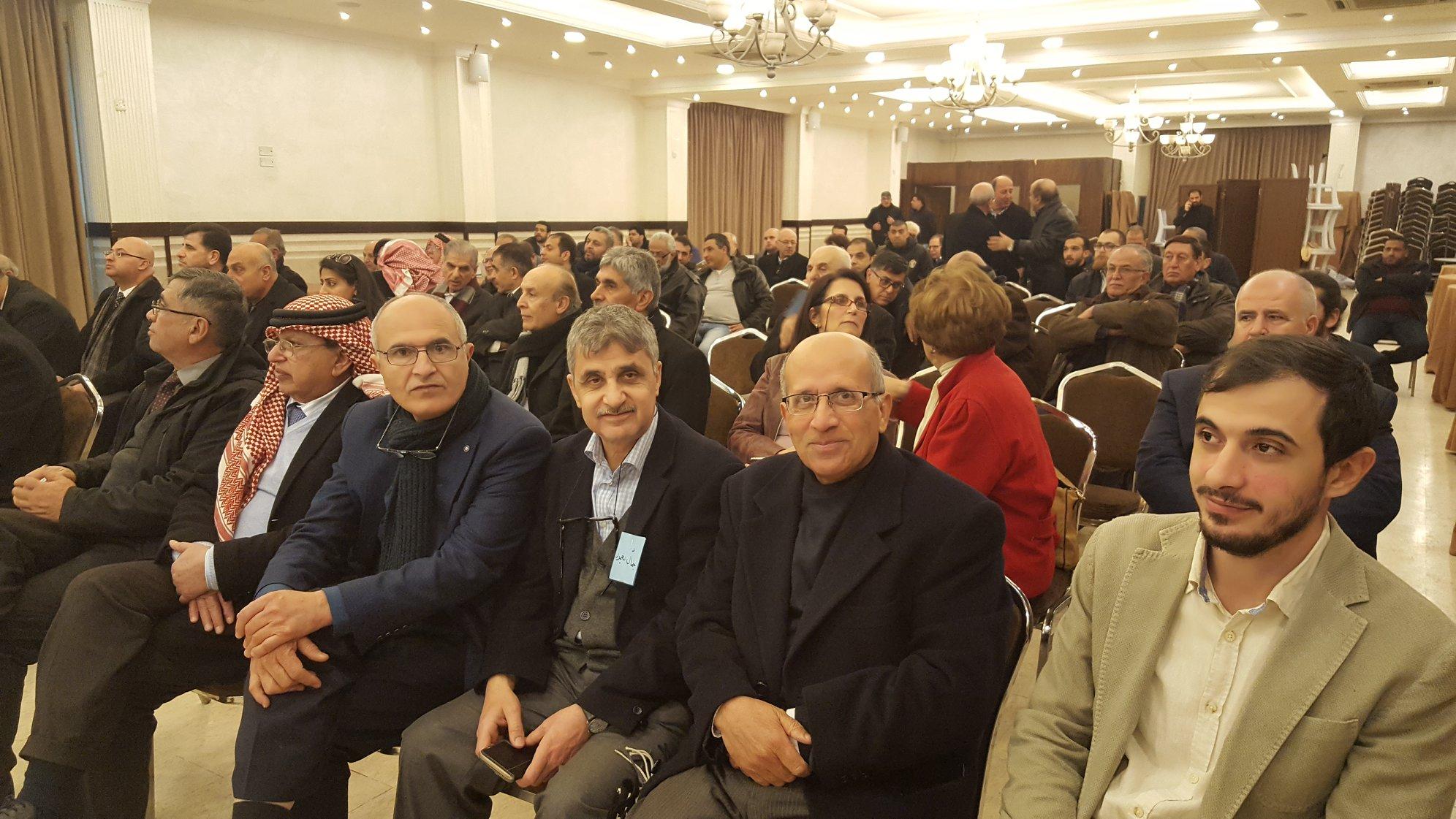 إنتخابات لجنه ادارة الصندوق التعاوني للأطباء الذي أقيم  في مجمع النقابات المهنيه – عمان 15 -2 – 2019