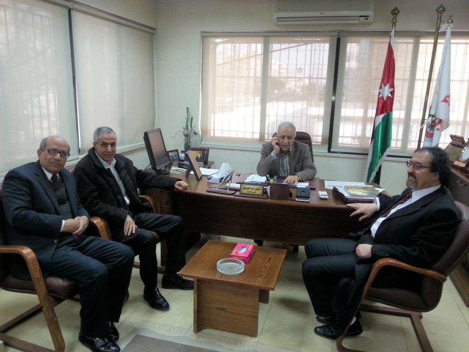 نقابه الاطباء الاردنيه : بدء الحملة الانتخابية في نقابة الاطباء الاردنية . (2013)