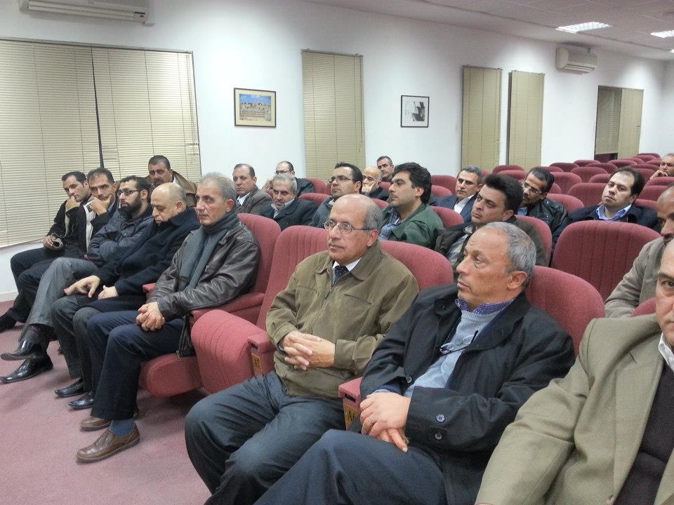 اجتماع جمعيه الأطباء الأختصاصيين بالتدريب     26-12-2012