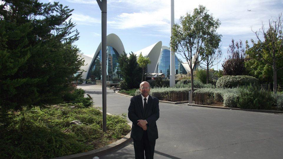 مجمع مباني عالم المحيطات في بلنسيا-اسبانيا الذي قمت بزيارته يوم الأثنين 5—11—2012  ميلادي