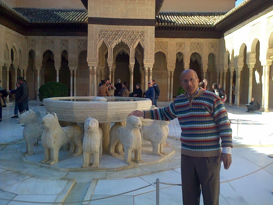 زيارة لمدينة غرناطة –  اسبانيا – 28 أكتوبر 2012
