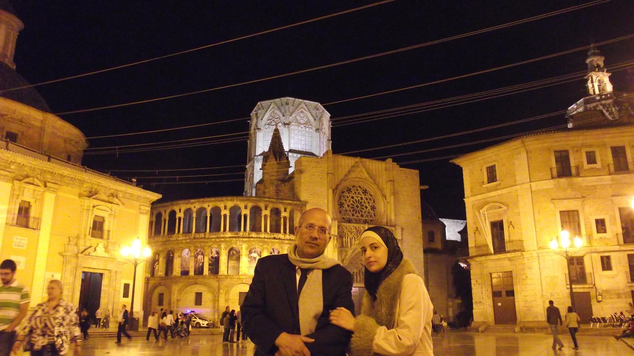 صورة من الذاكره : ساحة الكتدرال (بلنسيا – اسبانيا) – أكتوبر 2012