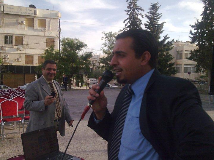 مهرجان تضامني وتواجد لجميع وسائل الاعلام في مجمع النقابات المهنية عمان,,للتعريف و التضامن مع اطباء وزارة الصحة 26-5-2011
