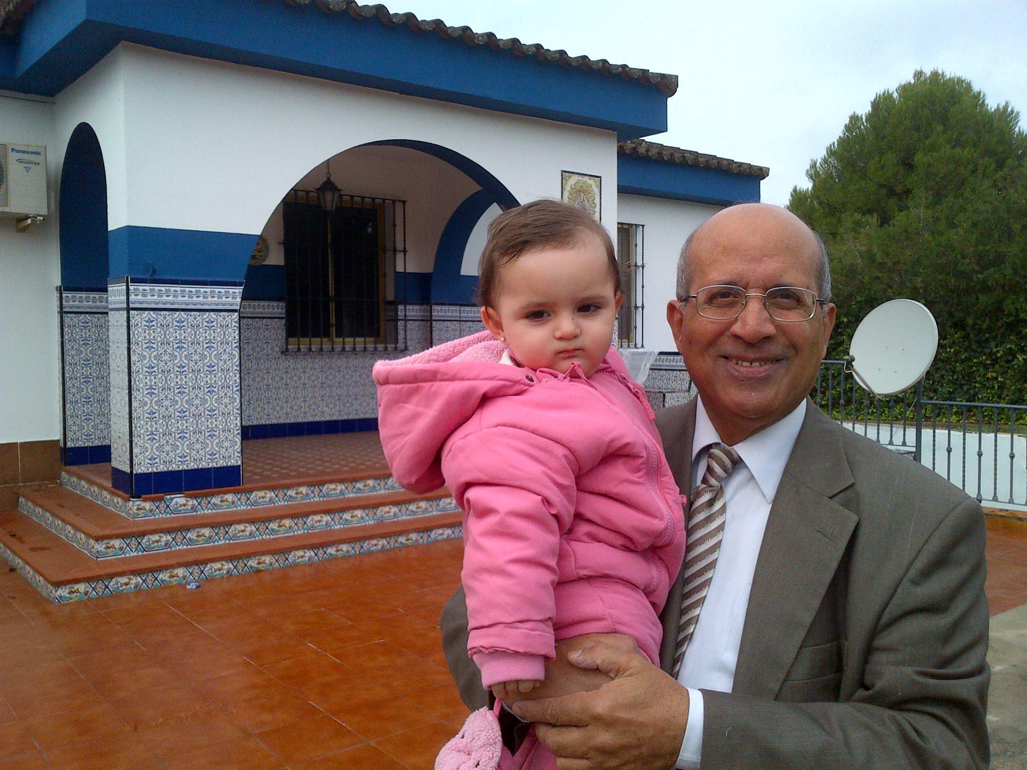 حفيدتي الصغيره تمارا مدريد  يناير 2013