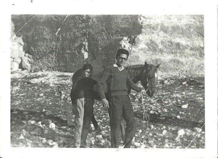 صوره من الذاكره :  نعيم أبو نبعه  – الاشرفيه –  1965  ميلادي
