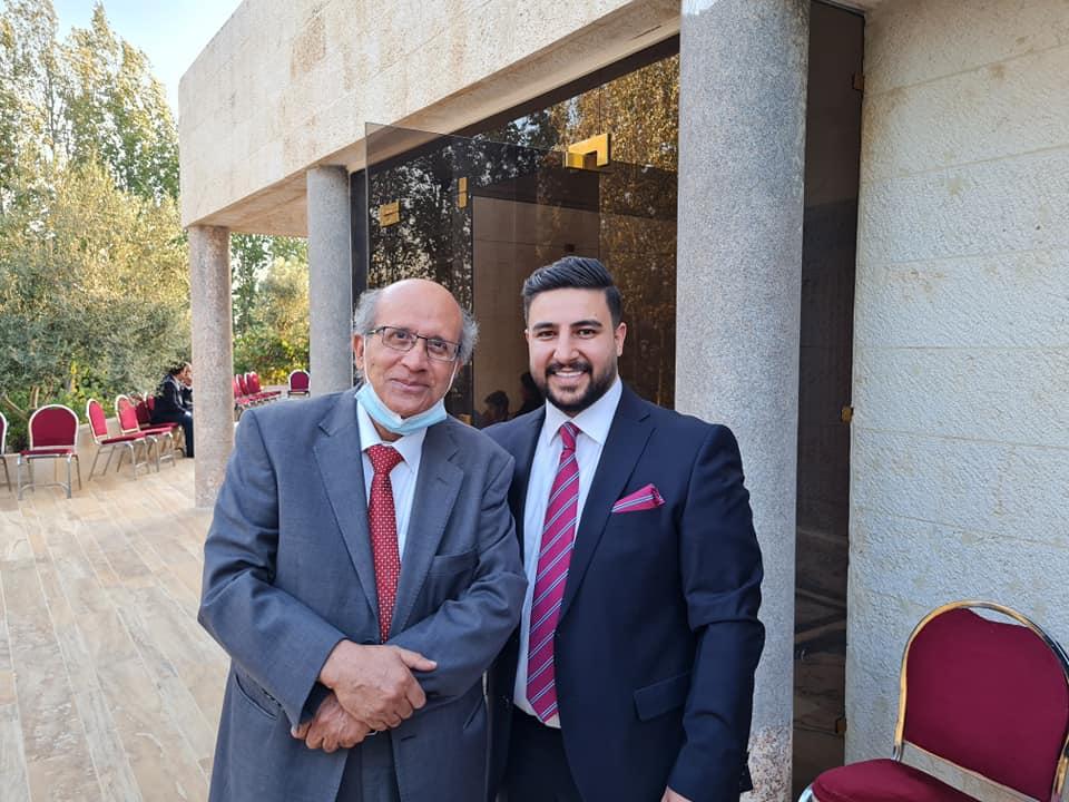 مبروك للزميل  الدكتور عبدالله محمود ابو دنون المحترم  13–8 — 2021