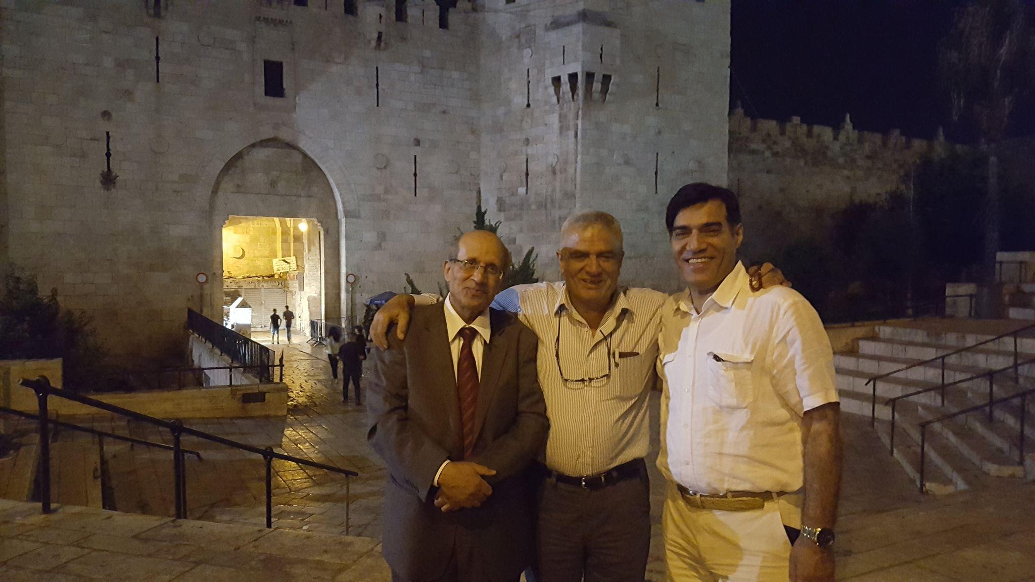 جوله في منتصف الليل في شوارع القدس القديمه والمسجد الاقصى مغلق  الخميس 13–7–2017