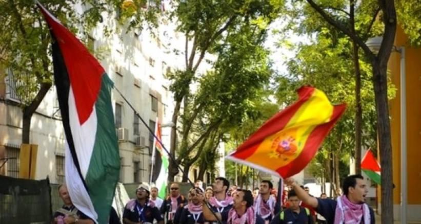 نقابات العمال الاسبانيه تتضامن مع الشعب الفلسطيني وترفض قرار ترمب