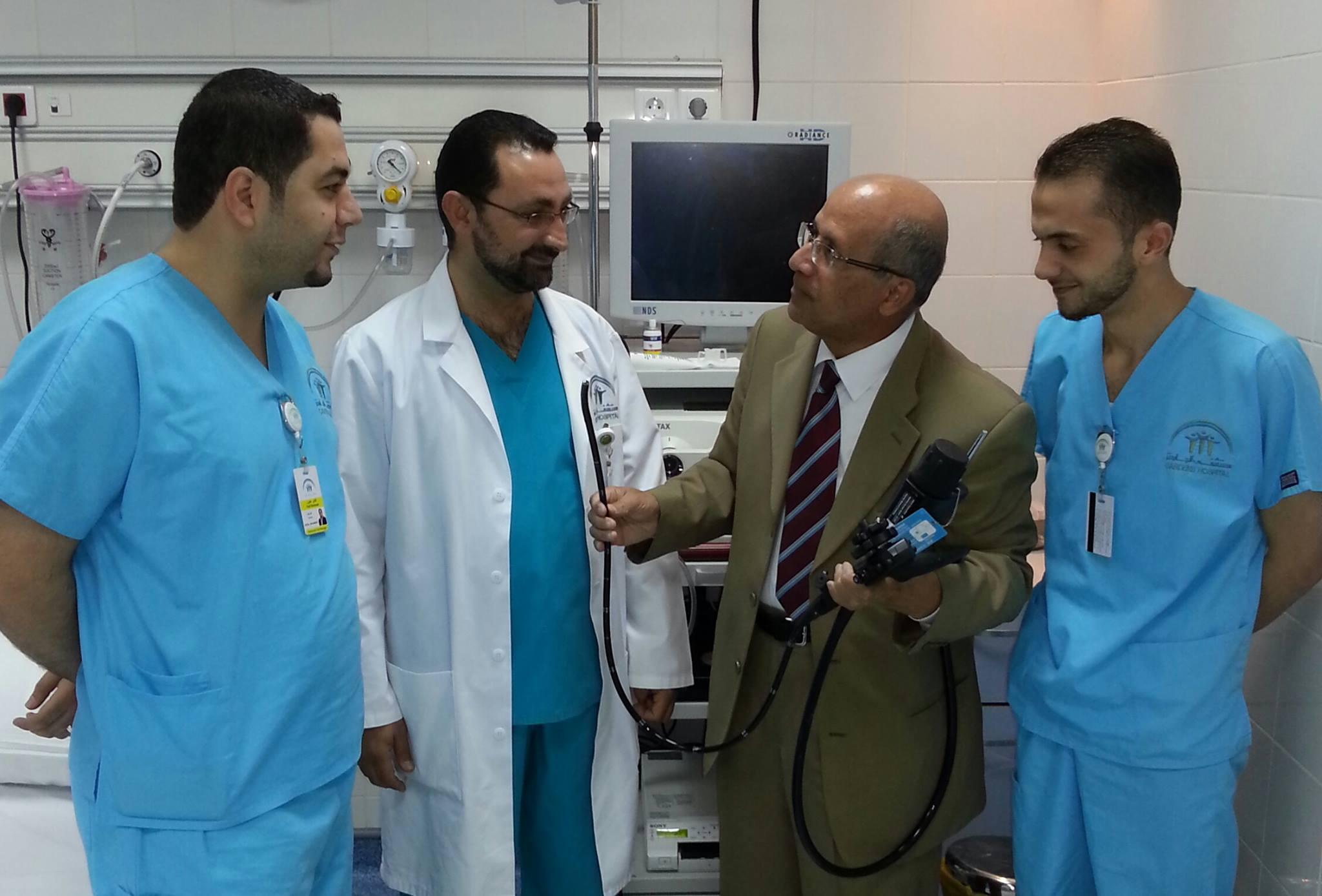 زياره الى مستشفى الجاردنز –  يوم الاحد 14–9–2014