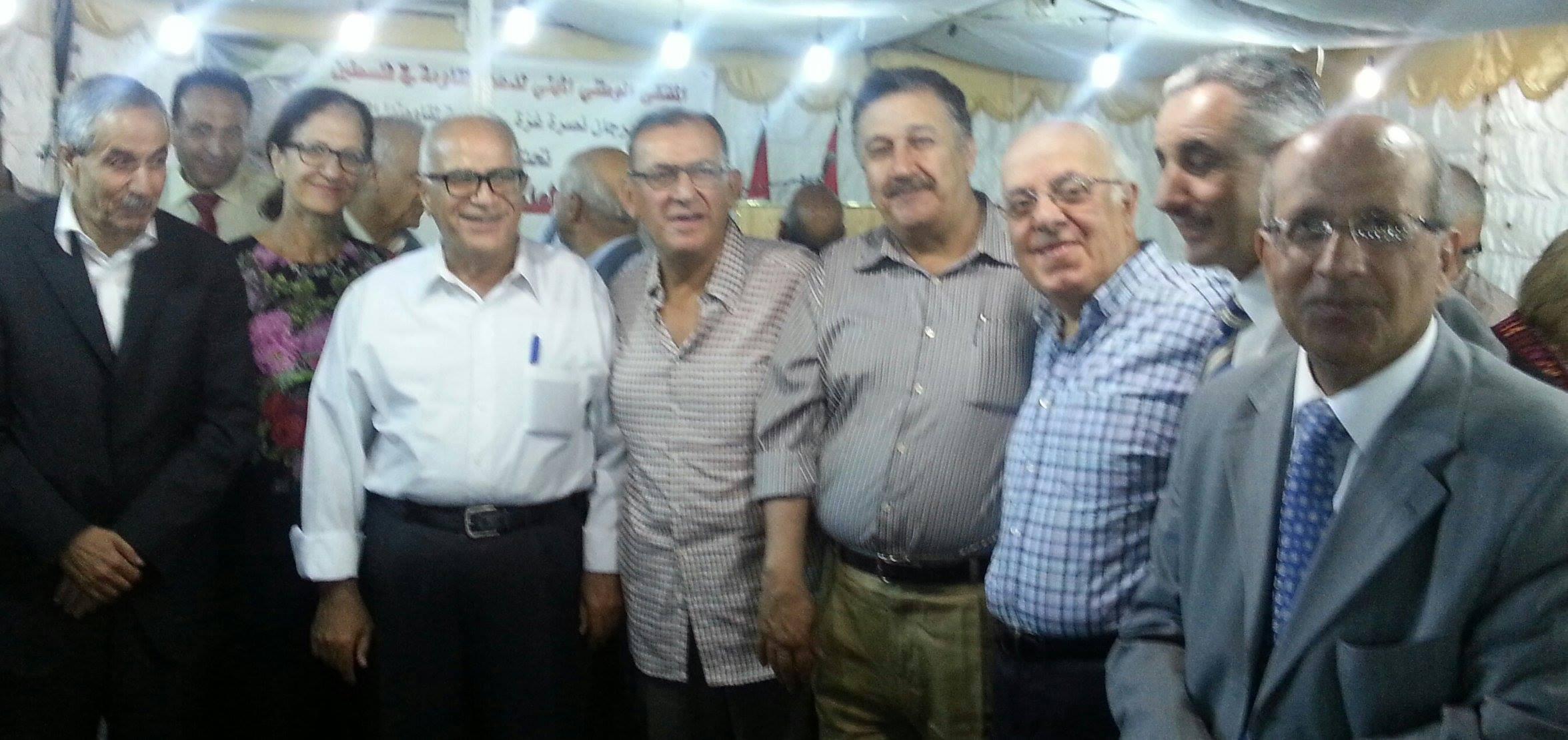 مهرجان الملتقى الوطني المهني لدعم المقاومه في فلسطين والذي اقيم مساء  يوم الأثنين 8–أيلول 2014
