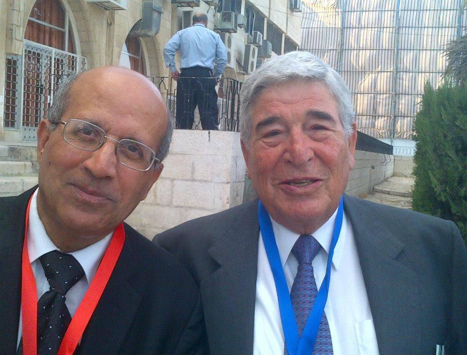 خلال فعاليات مؤتمر الاطباء الاردنيين المغتربين : مع معالي الدكتور عارف البطاينه 30 — 8 — 2014