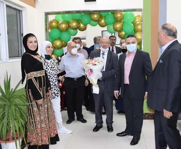 افتتاح لقسم الجهاز الهضمي والتنظير الجديد  في مستشفى الرويال   31 – 8 – 2021